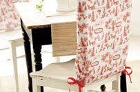 Awe Inspiring Simple Diy Holiday Chair Covers Diy Christmas Andrewgaddart Wooden Chair Designs For Living Room Andrewgaddartcom