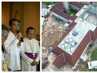 Akhirnya Jokowi Didesak Ubah Bentuk 'Masjid Ahok' Karena Mirip Salib