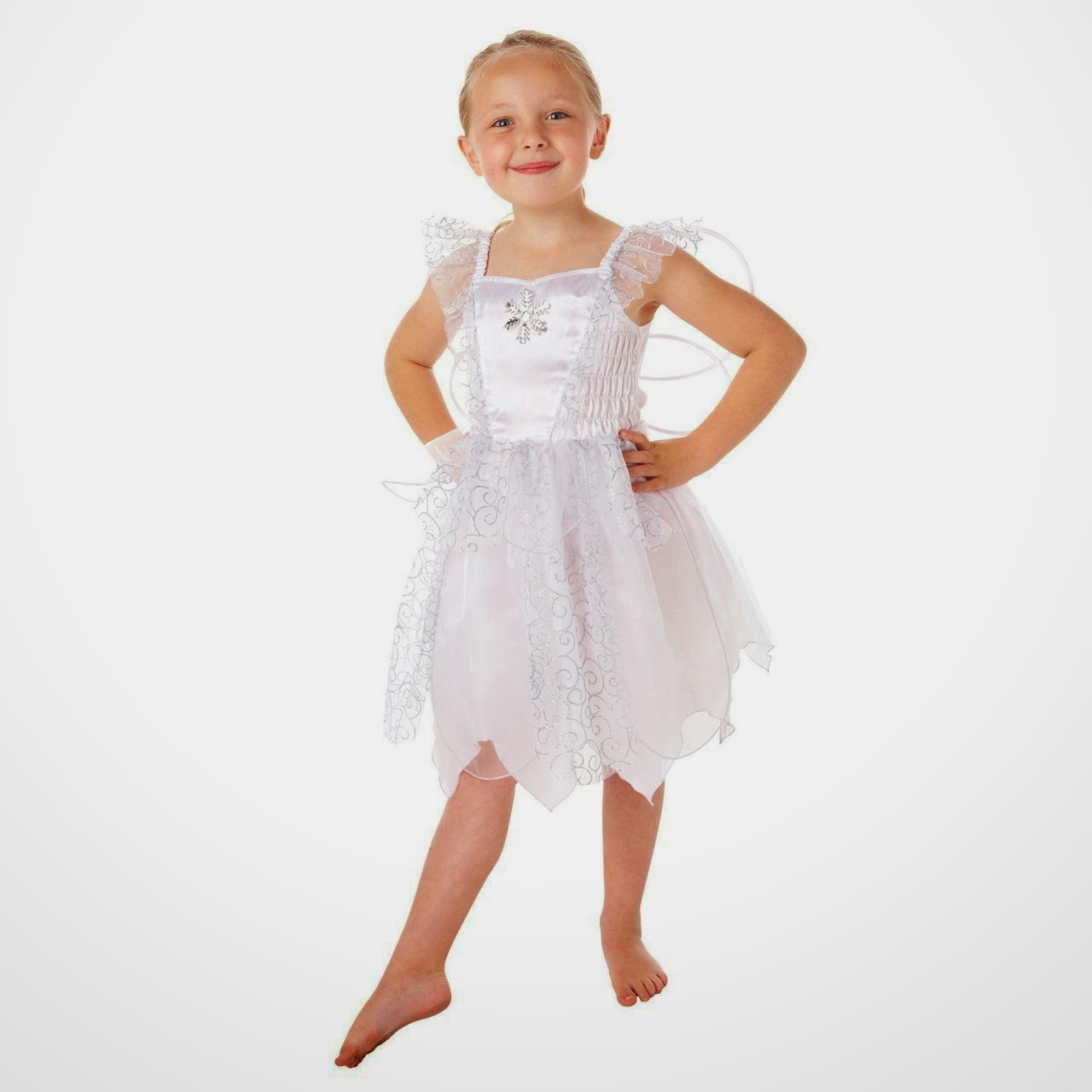 a3a60cf534eda Christmas Mary Elsa Frozen Costume · White Snowflake Fairy perfect for a  Frozen Party