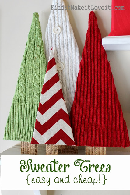 http://finditmakeitloveit.com/2013/12/sweater-trees-easy-cheap-free.html
