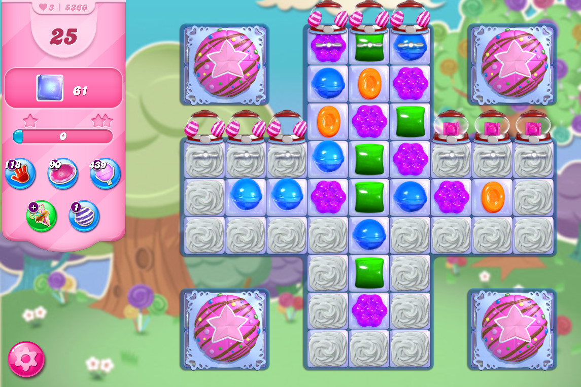 Candy Crush Saga level 5366
