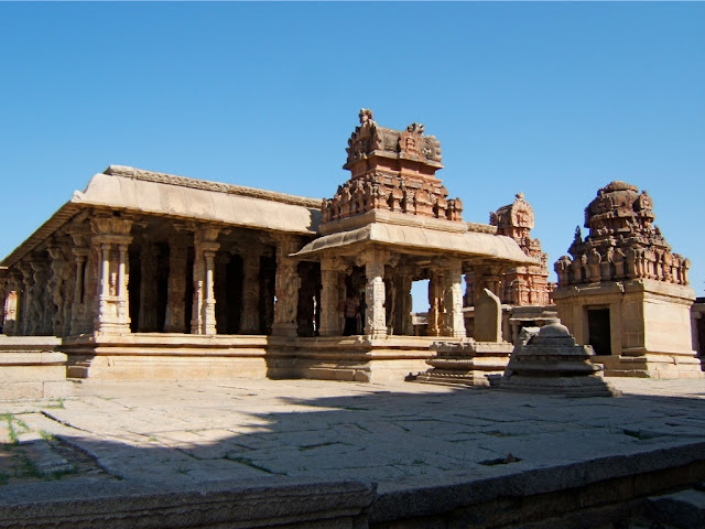 Courtyard of Bala Krishna Temple - Hampi