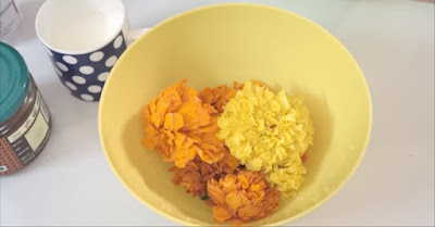 How Marigold flower help to remove Pigmentation, brown spots, get rid of aging and wrinkles and get white glowing face