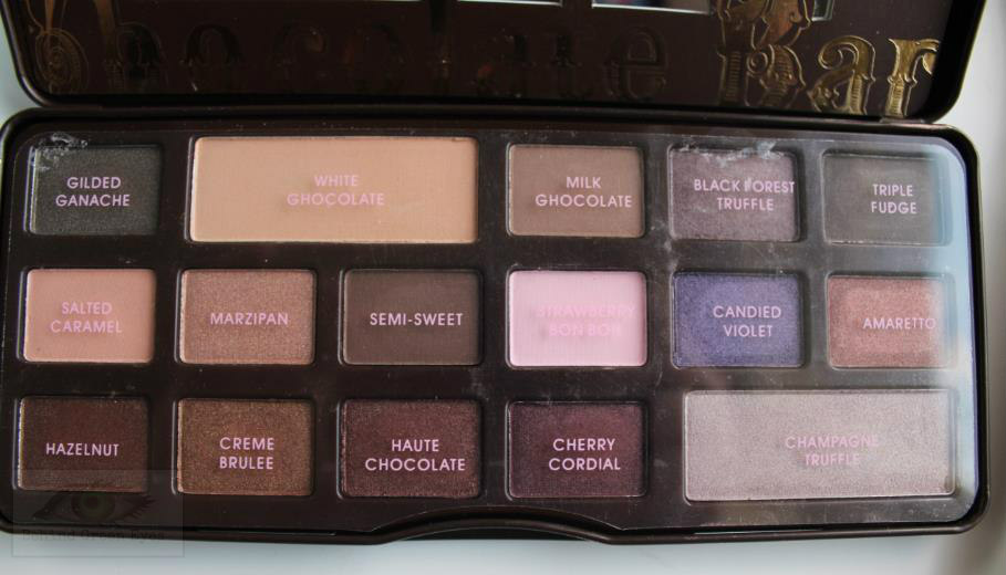 Behind Green Eyes Too Faced Chocolate Bar Palette Real