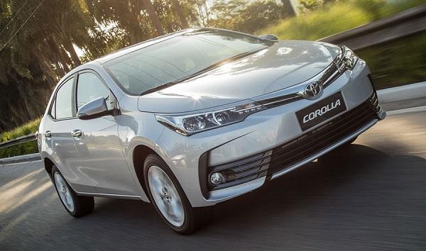 Ficha Técnica:ToyotaCorolla 1.8MT (2017)
