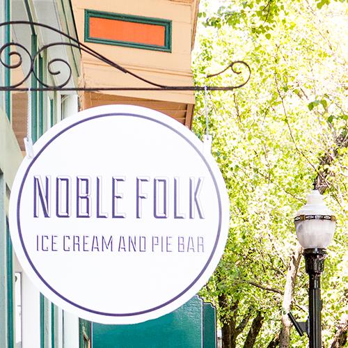 Where The Local Go: Noble Ice Cream & Pie Bar  |  LLK-C.com