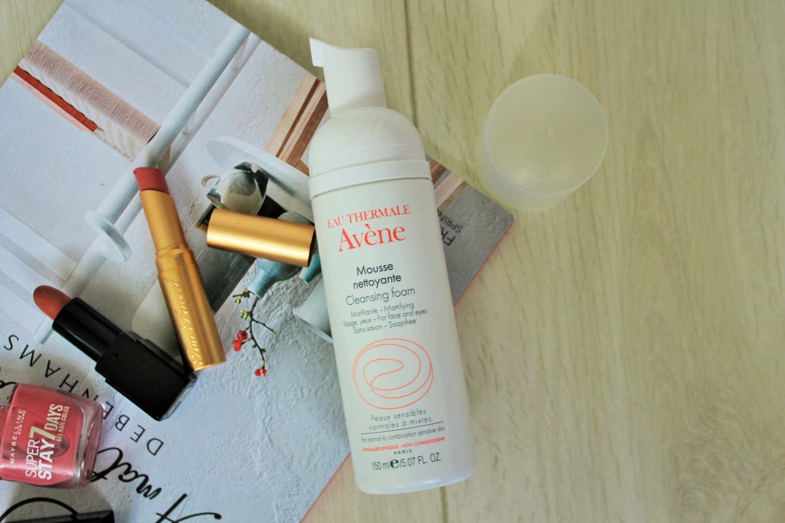 August Favourites 6 - Avene Cleansing Foam