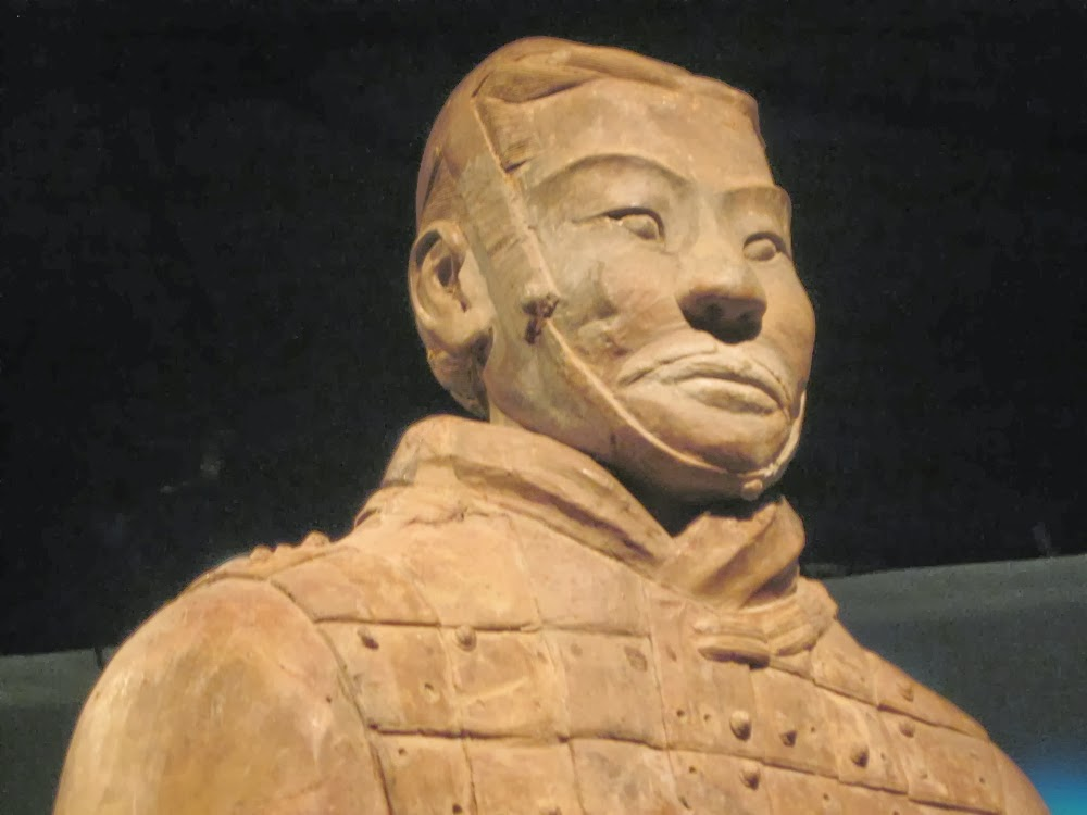 Terracotta Warriors inspired by Ancient Greek Art