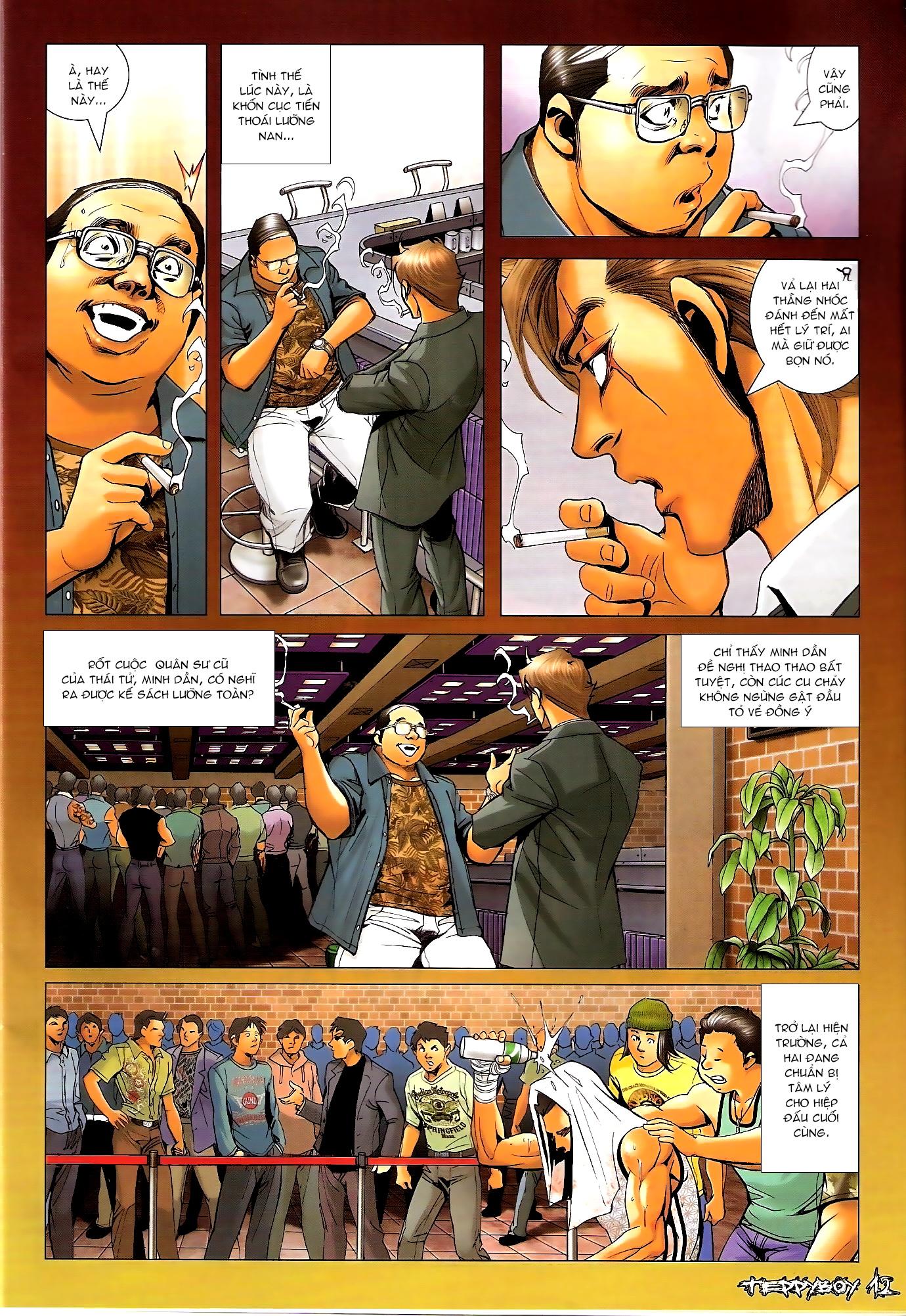 Người Trong Giang Hồ - Chapter 1309: Thắng thua đã rõ - Pic 11