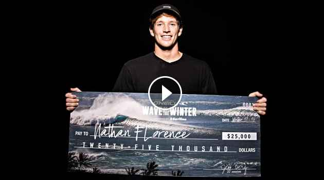 Nate Florence Wins Wave of the Winter