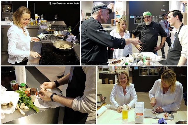 Experimente aus meiner Küche: Mediterranes Jägerschnitzel auf der IFA #perfectingtheclassics #aegifa #ifa2015