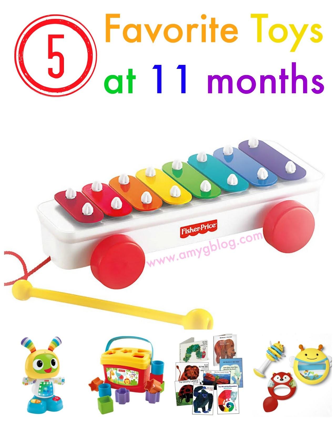 A Balancing Act 5 Favorite Toys at 11 months