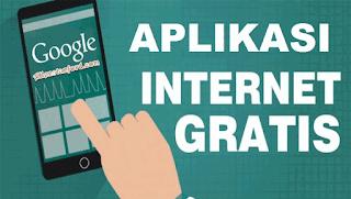 unduh Aplikasi Internet free pada handphone Android