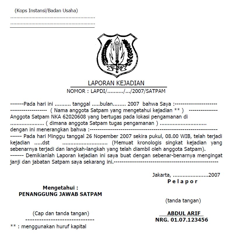 Satpam Surabaya September 2018
