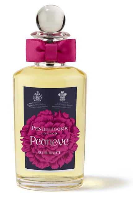 Peoneve fragrance by Penhaligon's London - UK beauty blog
