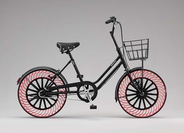 Bridgestone invented the bicycle-free tire