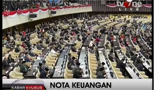 """Ada Media Yang Sebut Do'a Di Gedung DPR Yang Buat Gempar """"Adalah Do'anya Syetan"""""""