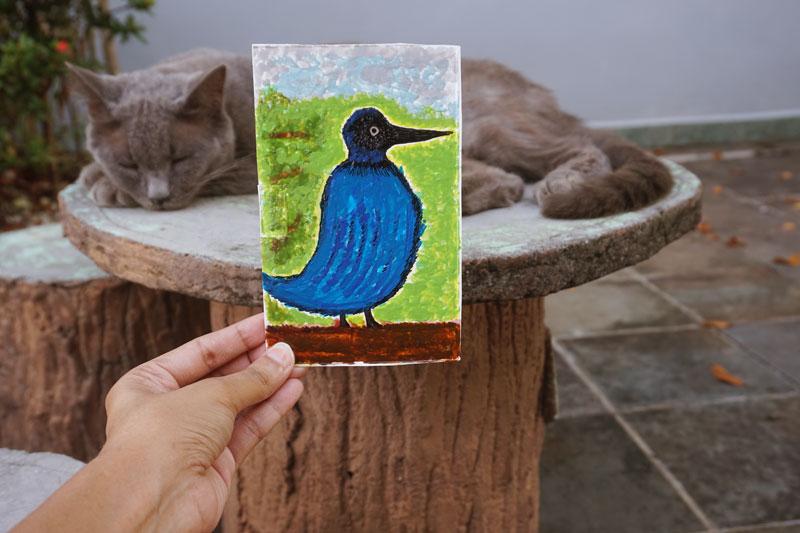 Blue Bird Muse