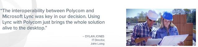 John Laing sử dụng giải pháp hội nghị trực tuyến Polycom