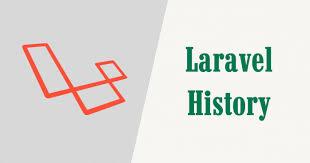 History of laravel