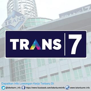 Lowongan Kerja Terbaru Trans7 banyak posisi 2016