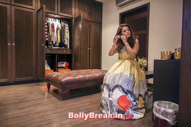 Aleena Raza gets ready for a party in her dressing room in Lahore. She manages the textile retail brand So Kamal, which is owned by her mother, Erum Ahmed., You will love these Pakistani Bold Women of 2014