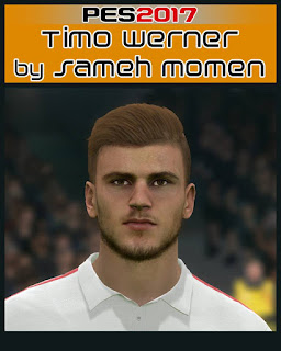 PES 2017 Faces Timo Werner by Sameh Momen