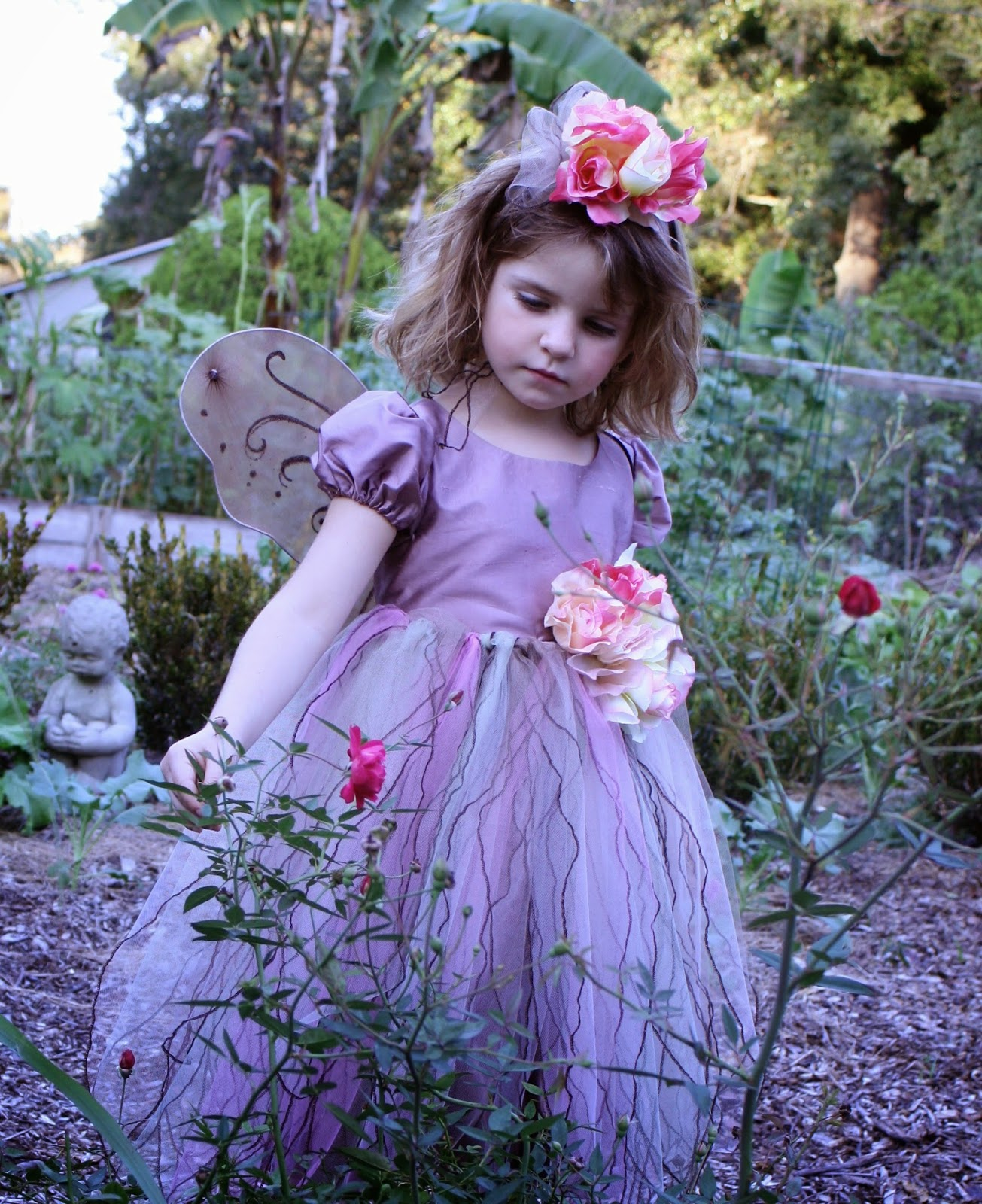 sew grown Garden Fairy Costume  sc 1 st  Garden Gallery - Blogger & sew grown: Garden Fairy Costume   Garden Gallery