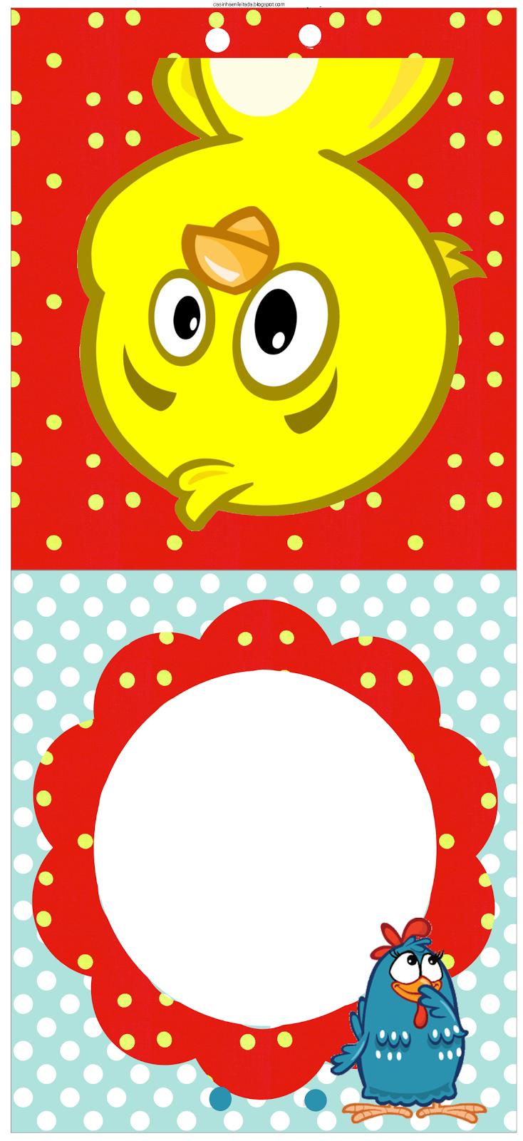 Casinha De Crianca Kit Festa Galinha Pintadinha Para Imprimir