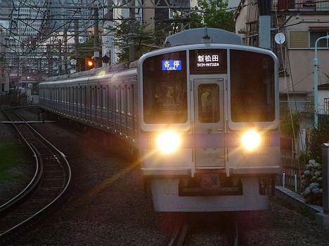 小田急線 各停 新松田行き 1000形(平日5本運行)