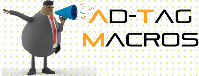 Ad tags Macros Insertion for Third parties like Jivox,Unicast,Legolas,Medialytics,BRIDGETRACK plus many more