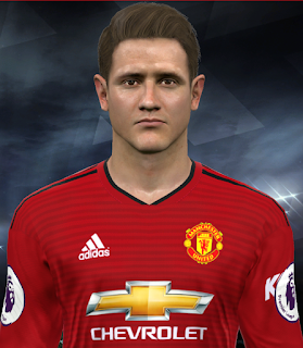 PES 2017 Faces Ander Herrera by Facemaker Huseyn
