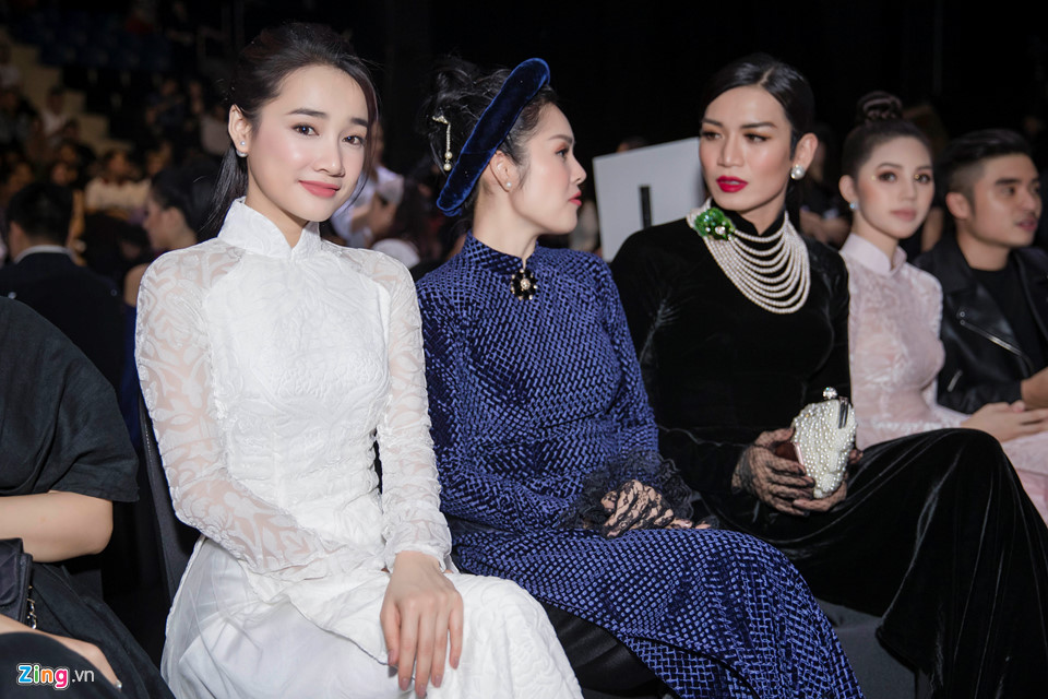 Nha Phuong radiant fashion week in Vietnam