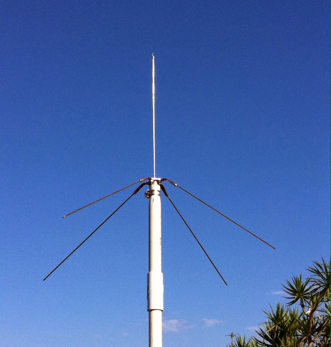 WA6PZB: 220 Mhz Ground Plane Antenna