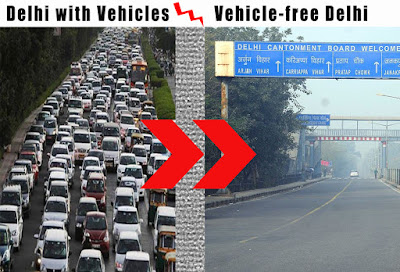 Delhi to go Vehicle-free soon