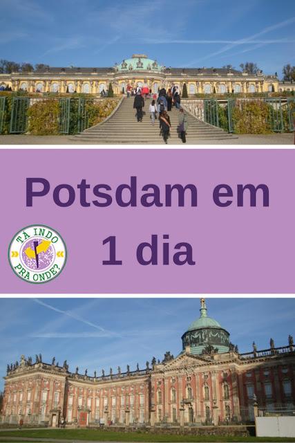 Como aproveitar melhor um bate-volta para Potsdam saindo de Berlim! Palácio e Jardins Sanssouci, Neues Palais
