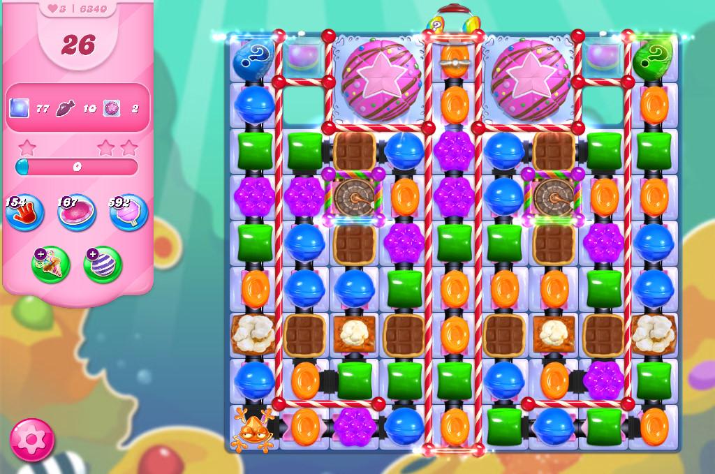 Candy Crush Saga level 6340