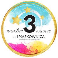trzecie miejsce w wyzwaniu Art Piaskownica