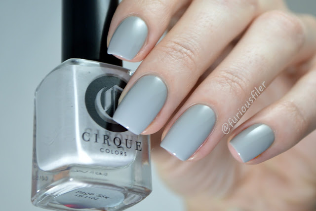 cirque page six swatch grey nail polish indie