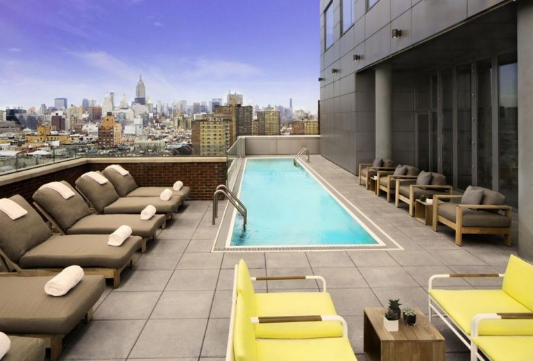 Amazing rooftop pool design ideas for 2019 houses for Rooftop pool design