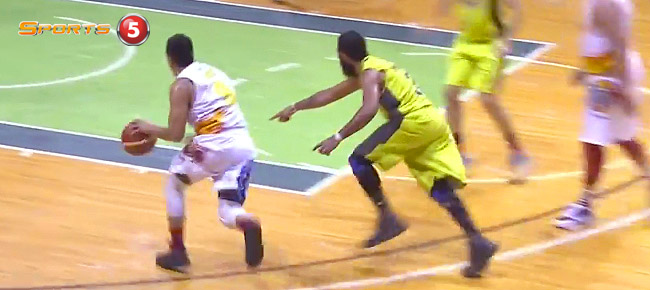 Jericho Cruz with the NASTY Euro-step vs GlobalPort (VIDEO)