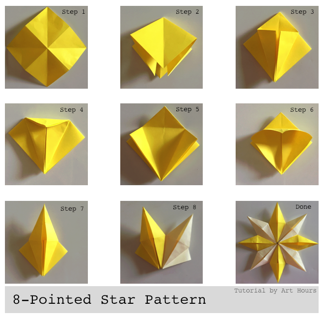 Five-pointed star | Paper crafts origami, Origami crafts, Origami ... | 647x660