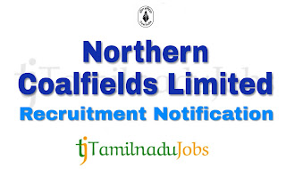 NCL Recruitment notification of 2018, govt jobs for ITI, apprentices job for ITI