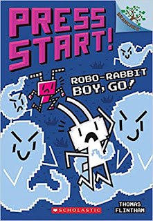 Press Start! Robo-Rabbit Boy, Go!: A Branches Book
