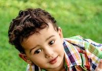 corte de cabelo para bebê ondulado