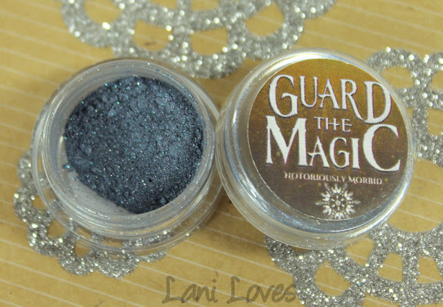 Notoriously Morbid The Moon Told Me So Eyeshadow Swatches & Review