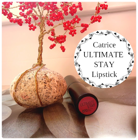 Catrice Ultimate Stay lipstick (070 Plum & Base)