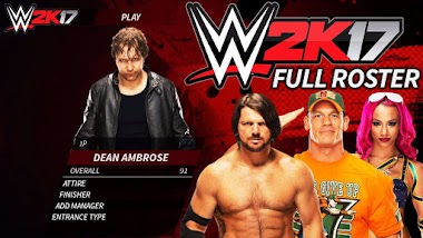 تحميل وتثبيت لعبة المصارعه WWE 2K17 رابط مباشر وبحجم معقول للكمبيوتر