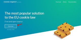 Homepage Cookie Consent