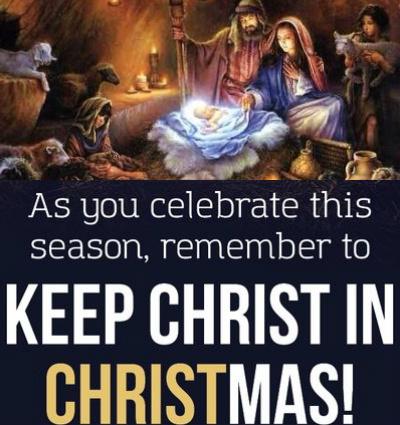 Christmas a necessary birth